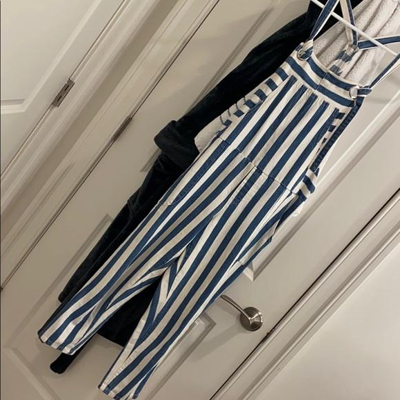 Signature8 Pants - Striped overalls
